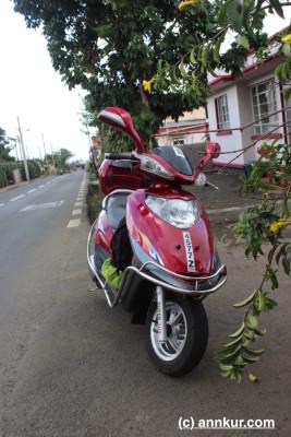 Biking in Mauritius