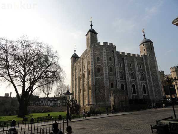 One of the buildings at Tower of London